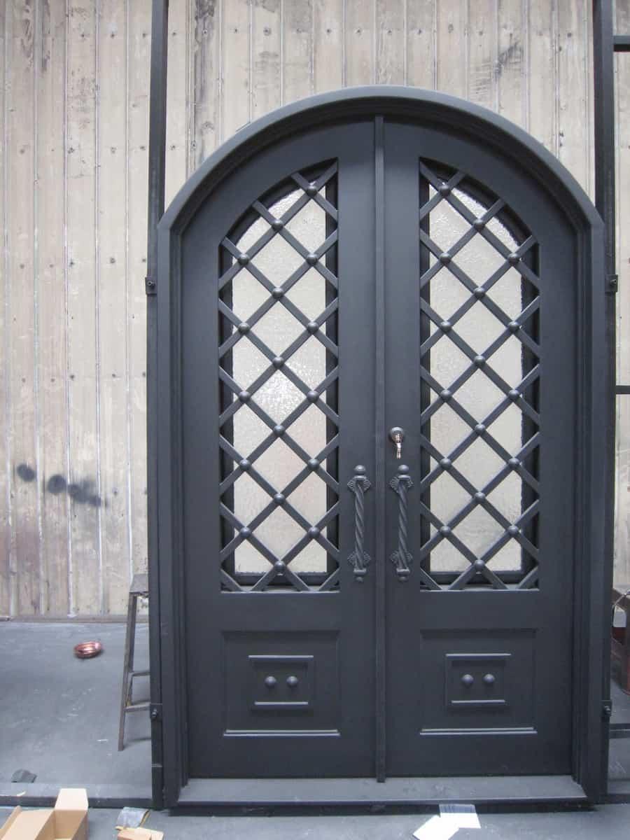 Monmouth county Iron door